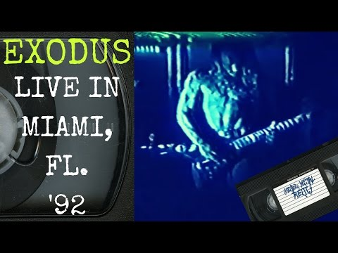 Exodus Live in Miami FL December 3 1992 FULL CONCERT