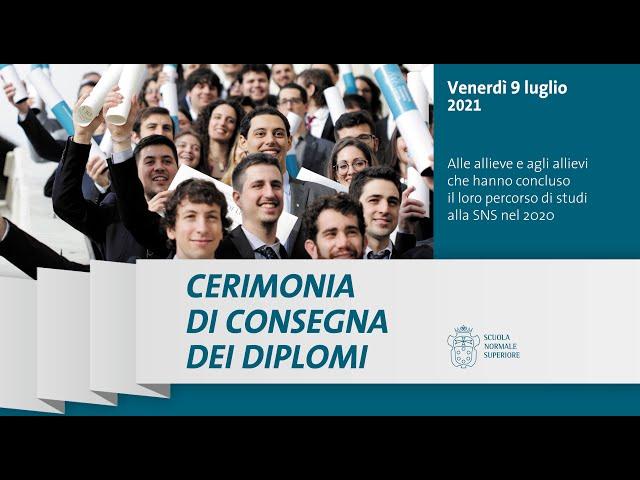 Cerimonia di consegna dei diplomi - 9 luglio 2021