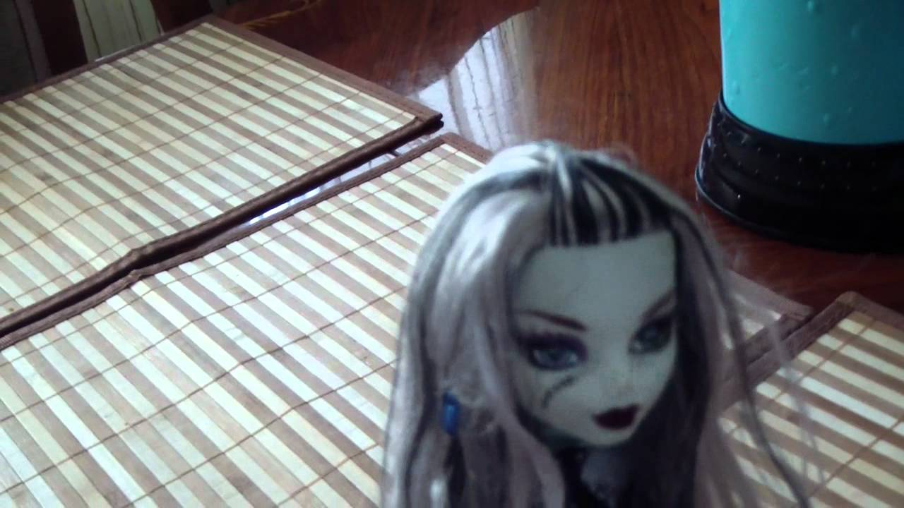 мои куклы монстр хай - YouTube