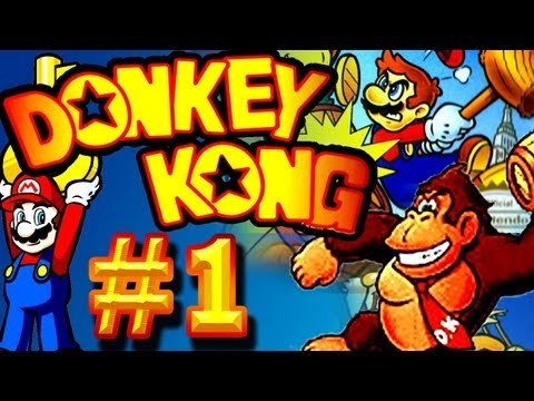 Let's Play Donkey Kong (Game Boy) - Part 1 - Die Fortsetzung Des Ursprungs