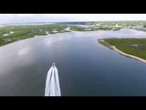 Murrells Inlet South Carolina view from a drone