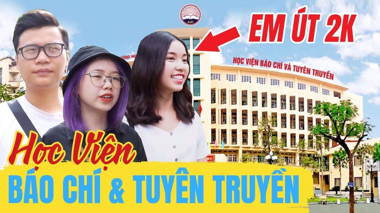Vlog Mi Sơn : Khám phá trường em út 2000 Schannel | Review Học Viện Báo Chí Và Tuyên Truyền