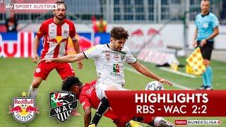 Tipico Bundesliga, 28. Runde: Fc Red Bull Salzburg - Wolfsberger Ac 2:2