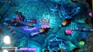 Harpoon Lagoon - Videmption Arcade Game - Pre-Production Cabinet - BOSA 2013 Silver Medal - ICE