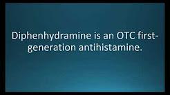 How to pronounce diphenhydramine (Benadryl) (Memorizing Pharmacology Flashcard)