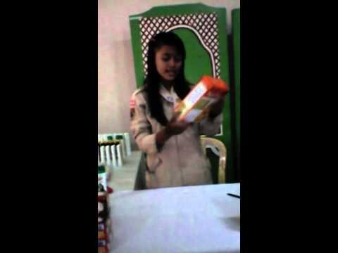 Promosi Nutrisari Dari SMK TAMTAMA KARANGANYAR 2015 PASTI BISA