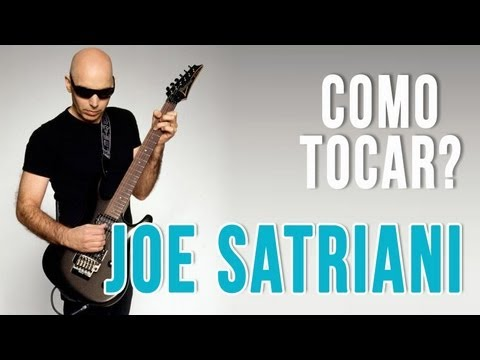 Joe Satriani  Midnight aula de guitarra completa