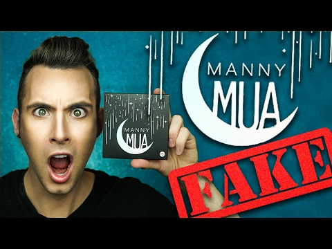 FAKE ASS Manny MUA Palette! | Makeup Geek |