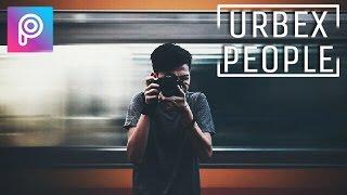 Cara edit urbex people di picsart