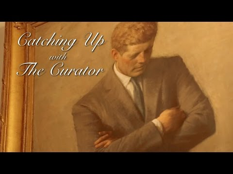 Go Inside the White House with Curator, Bill Allman, as he discusses the inspiration behind the presidential portrait of the 35th President, John Fitzgerald Kennedy.
