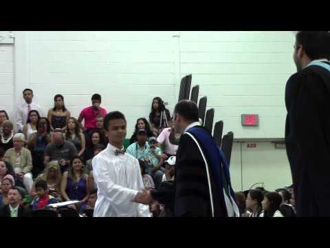 Long Branch Middle School Graduation 2015
