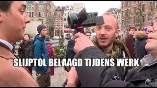 Extinction Rebellion belaagt journalist Slijptol tijdens werk