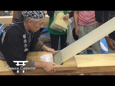 Samurai's First Time In Japan! Kezuroukai Planing Competition!