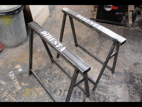 Diresta Steel Sawhorses Youtube