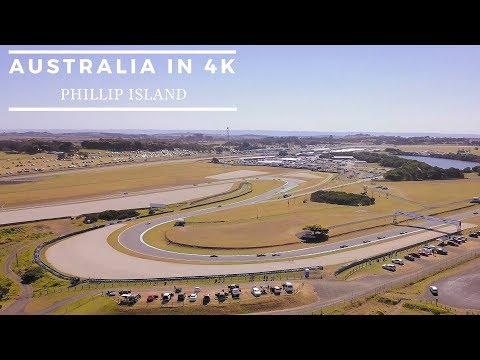 Phillip Island Australia by drone part 1- Grand Prix, Surfing [Mavik Pro 4k]