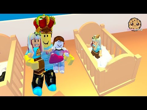 Bungee Jumping with Baby ! Adopt Me Roblox Family Game