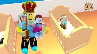 My New Family ! Adopt Me Roblox Family Game with Cookie Swirl C thumbnail