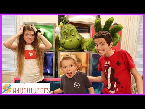 Villains The Next Level Ep. 4 The Grinch Stole Audrey's Car! / That YouTub3 Family I The Adventurers