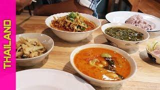 Cơm nhà truyền thống phía bắc Thái Lan ra sao?