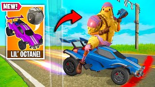 *NEW* THE BEST EMOTE in SEASON 6!! (Lil' Octane!) - Fortnite Funny Fails and WTF Moments! 1218