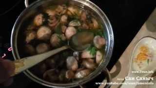Маринованные грибы шампиньоны, быстрый рецепт