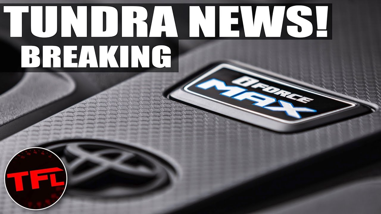 All-new 2022 Toyota Tundra Will Have an iForce MAX Engine! Here Is the Latest Scoop!