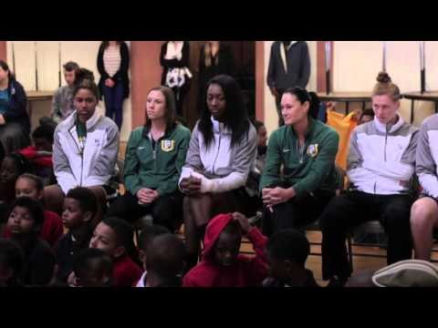 """WCC Champs visit Northern Light School in Oakland"""