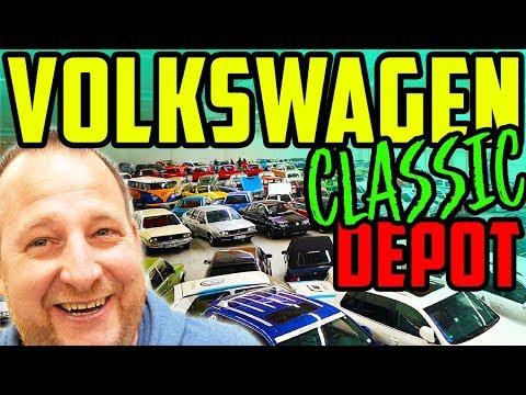 Das HAUT euch UM! - Marco im Volkswagen Classic Depot - Viele Erinnerungen! - Teil 1/2