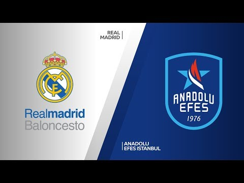 Real Madrid - Anadolu Efes Istanbul Highlights | Turkish Airlines EuroLeague RS Round 20