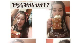 VLOGMAS DAY 7... Baking cookies **EPIC FAIL**