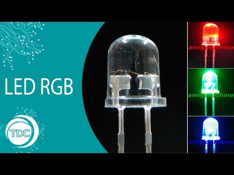 Led RGB o que é como funciona