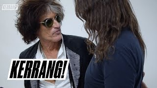 JOE PERRY on Johnny Depp,  Dave Grohl and his Kerrang! Award