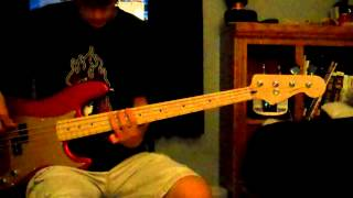 Arriving Somewhere But Not Here - Porcupine Tree Bass Cover