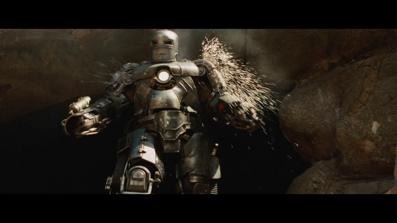 железный человек 1 Марк первый (Iron Man 1 Mark one) - YouTube