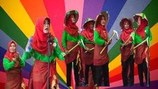 Keren,.. Juara II Lomba Yel-yel - PKK Kecamatan Dumai Selatan-Jambore Kader PKK Tingkat Kota Dumai