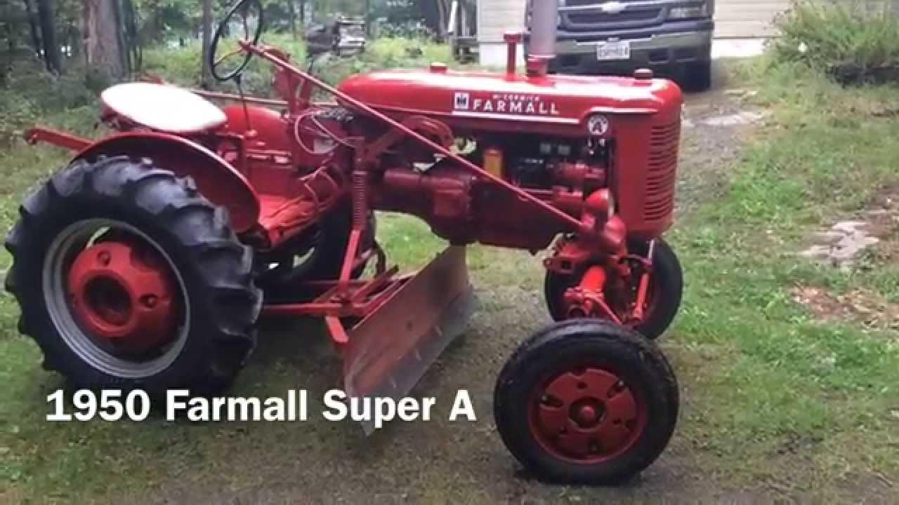 Farmall Super A 1950  YouTube