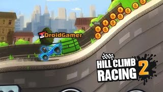 CITY & CUPS WITH SPORTS CAR || HILL CLIMB RACING 2