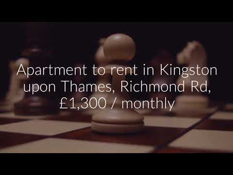 Apartment to rent in Kingston upon Thames, Richmond Rd, £1,300 / monthly