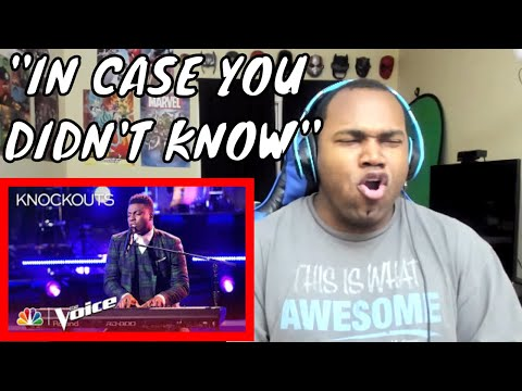 """Kirk Jay Astounds Again with """"In Case You Didn't Know"""" - The Voice 2018 Knockouts REACTION"""