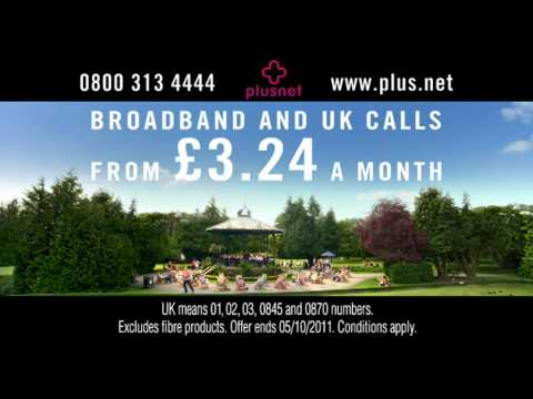 Plusnet Broadband - The Plusnet Band - Advertisement