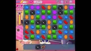 Candy Crush Saga level 519 - 3 stars, no boosters used!