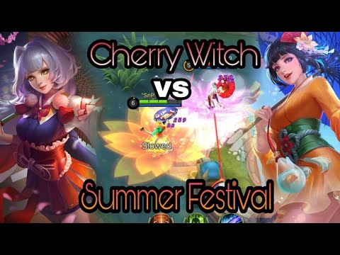 KAGURA SUMMER FESTIVAL VS CHERRY WITCH! WHICH IS BETTER? | MOBILE LEGENDS