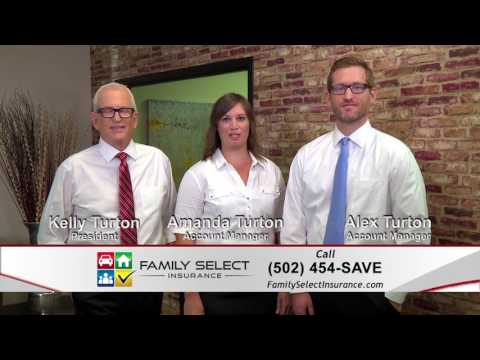 "Family Select Insurance TV Ad ""Not Actors"" - Auto insurance homeowners insurance Louisville KY"