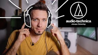 Audio-Technica ATH-M50x МОИ ЛУЧШИЕ НАУШНИКИ