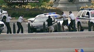 Diễn biến vụ nổ súng, rượt đuổi xe tại trụ sở Quốc hội Mỹ