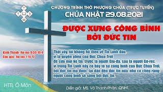 HTTL Ô MÔN - Chương trình thờ phượng Chúa 29/08/2021