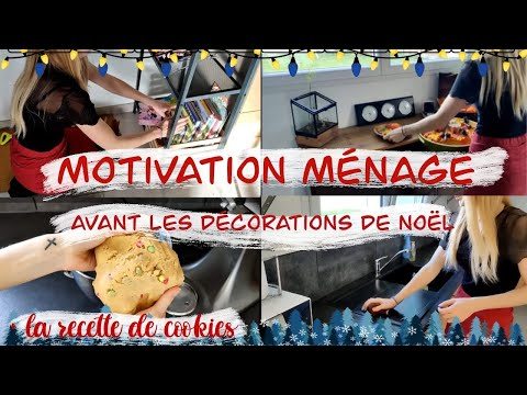motivation-mÉnage-/-cookies-/-tri-/-coup-de-propre-avant-noËl-!-clean-/-declutter-and-cook-with-me