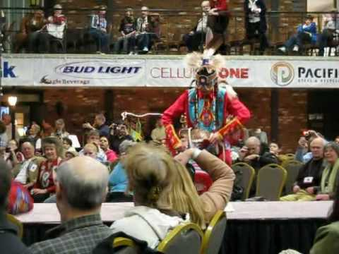 Blackfoot Dancers At The CM Russell Art Show