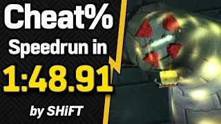 SpongeBob SquarePants: Battle for Bikini Bottom Cheat% Speedrun in 1:48.91 (WR on 11/13/2019)