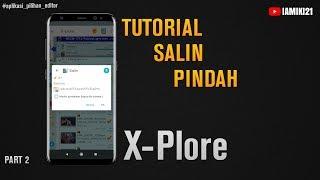 Tutorial Salin dan Pindah File Pada Aplikasi X Plore Android screenshot 5